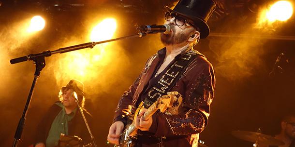 Dave Stewart bei seinem Auftritt in Köln. (Foto: Björn Othlinghaus)