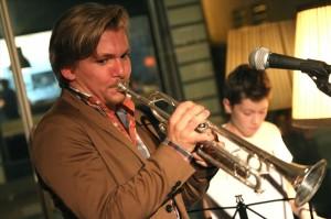 Trompeter Dominic Leitgeb (Foto: Björn Othlinghaus)