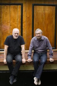 """Die letzten der Mohikaner bei """"Pink Floyd"""": Gitarrist und Sänger David Gilmour und Nick Mason. (Foto: Harry Borden)"""