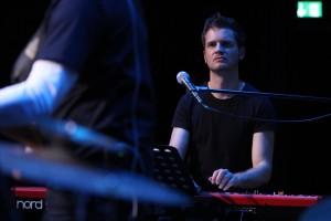 Sonnabend-Keyboarder Philip Ritter. (Foto: Björn Othlinghaus)