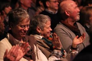 Auch das Publikum genoss sichtlich das gut dreistündige Konzert. (Foto: Björn Othlinghaus)