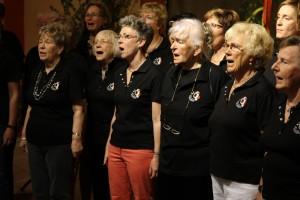 Auch der Frauenchor Cantabile (Leitung: Hanno Kreft) gestaltete das Programm mit. (Foto: Björn Othlinghaus)