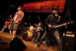"""Die Band """"Adams Fall"""" konnte den Wettbewerb am Ende für sich entscheiden. (Foto: Björn Othlinghaus)"""