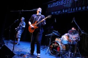 """""""Big Stroke"""" gewannen den Contest im vergangenen Jahr und hatten diesmal außerhalb des Wettbewerbs noch einen Auftritt. (Foto: Björn Othlinghaus)"""