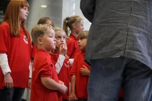 Nachwuchs für die Lüdenscheider Gesangvereine ist vorhanden. (Foto: Björn Othlinghaus)