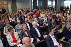 Der Publikumszuspruch bei den Chorehrungen war wie immer groß. (Foto: Björn Othlinghaus)