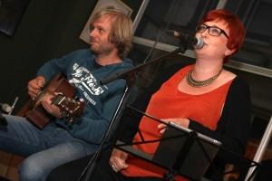 Benjamin Schlanzke und Julia Späinghaus. (Foto: Björn Othlinghaus)