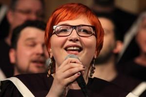 Julia Späinghaus war eine der vielen Gesangssolistinnen. (Foto: Björn Othlinghaus)