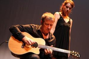 Mit Patrice Marzin hatte Gwennyn einen erstklassigen Gitarristen mitgebracht. (Foto: Björn Othlinghaus)