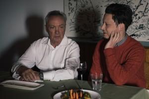 """Mit Udo Kier realisierte Konstantin Gropper, wie immer gemeinsam mit Regisseur Philipp Käßbohrer, das Video zu """"It's Love"""". (Foto: Sebastian Teitge)"""