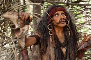 """Das Foto täuscht: Jack Sparrow spielt in """"The Green Inferno"""" nicht mit. (Foto: Constantin Film)"""
