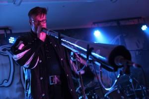 "Captain Chris von ""Mythemia"", ein echter Virtuose am Didgeridoo. (Foto: Björn Othlinghaus)"