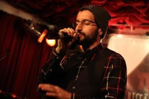 Der Hip-Hopper 2Seiten war der Hauptact bei der Hip-Hop-Bakery. (Foto: Björn Othlinghaus)