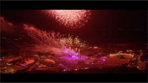 Spektakuläre Luftaufnahmen lassen den Zuschauer staunen. (Foto: Tomorrowland)