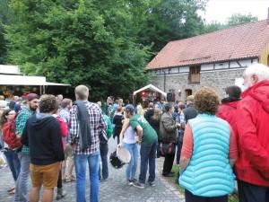 Direkt an der Heesfelder Mühle wird gerockt. (Foto: Robin Brunsmeier)(Foto: Robin Brunsmeier)