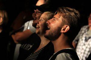 Das Publikum hatte seinen Spaß. (Foto: Björn Othlinghaus)