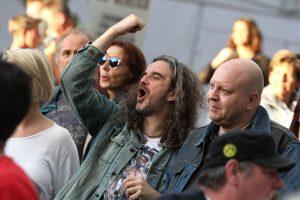 Das Publikum war begeistert von den Pop-Punk-Veteranen. (Foto: Björn Othlinghaus)