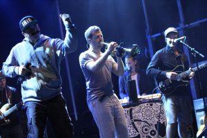 Gute-Laune-Reggae mit Anspruch gab es von Jamaram, den Headlinern des Festivals. (Foto: Björn Othlinghaus)