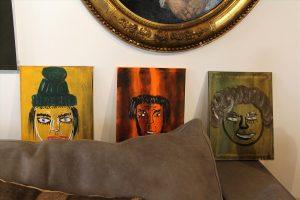 Die Bilder von Manni Ludolf sind für einige Wochen in der Galerie Kümmel zu sehen. (Foto: Björn Othlinghaus)