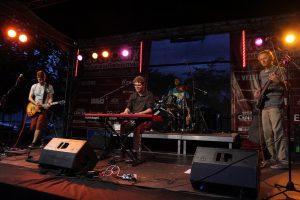 Tolle Live-Atmosphäre mit Jann Tholen und seiner Band. (Foto: Björn Othlinghaus)