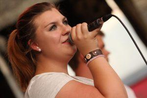Sarah Leann Redding, Frontfrau der Band Otherside. (Foto: Björn Othlinghaus)