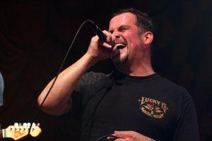 Carsten Schumacher, Sänger bei Radionative. (Foto: Björn Othlinghaus)