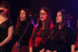 Sängerinnen der Musikschule Grenzenlos. (Foto: Björn Othlinghaus)