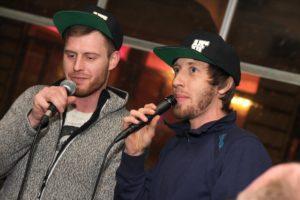 Hip Hop war mit dem Duo Hazefeld aus Halver angesagt. (Foto: Björn Othlinghaus)