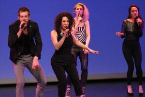 Modernen Pop brachte die Niederländische Gruppe The Junction auf die Bühne. (Foto: Björn Othlinghaus)