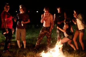 Ausgelassene Partys gehören auch zum Leben der Abo-Werber. (Foto: Universal Pictures)