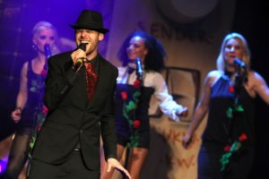 Sam Romdhane widmete sich unter anderem den Songs von Bruno Mars und Michael Jackson. (Foto: Björn Othlinghaus)
