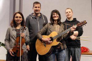 Musikteam Freie evangelische Gemeinde Börsenstraße. (Foto: Björn Othlinghaus)
