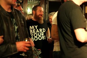 Der Bart steht ihm gut - im Reidemeister. (Foto: Björn Othlinghaus)