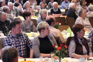 Die Brügger Vereinshalle war gut besucht. (Foto: Björn Othlinghaus)
