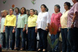 Sängerinnen des Frauenchors Cantabile. (Foto: Björn Othlinghaus)