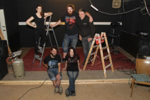 Besonders stolz sind die Rock-Fans auf ihre Bühne. (Foto: Björn Othlinghaus)