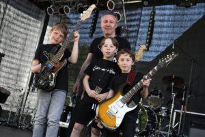 Die Kinderband Wat aufs Ohr war zum Auftakt des Festivals zu sehen und zu hören. (Foto: Björn Othlinghaus)