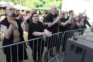 Am ersten Veranstaltungstag waren noch nicht so viele, aber dafür begeisterte Zuhörer da. (Foto: Björn Othlinghaus)