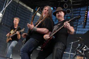 Heavy Metal vom Allerfeinsten servierten die Jungs von Seth 13. (Foto: Björn Othlinghaus)