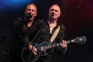 Die Herren von Lichtgestalt rockten das Festival-Gelände. (Foto: Björn Othlinghaus)