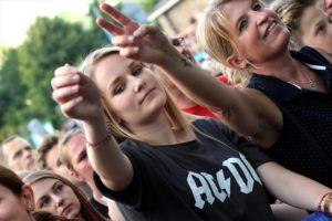 Die Fans hatten Spaß bei den Sportis. (Foto: Björn Othlinghaus)