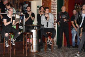 Das Publikum, obgleich an diesem Abend nicht so zahlreiche erschienen, ging gut mit. (Foto: Björn Othlinghaus)