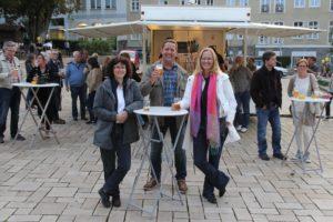 Nicht so viele, dafür aber interessierte und begeisterte Zuschauer besuchten die beiden Flashmob-Veranstaltungen. (Foto: Björn Othlinghaus)