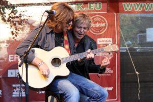 Volker Hinkel und Peter Freudenthaler, Gründungsmitglieder und Songschreiber von Fools Garden. (Foto: Björn Othlinghaus)