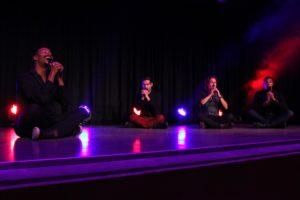 Das Programm der vier sympathischen Sänger bot auch zahlreiche besinnliche Momente. (Foto: Björn Othlinghaus)