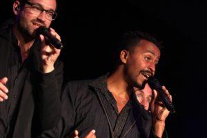 Die Sänger verbreiteten gute Laune und kamen beim Publikum bestens an. (Foto: Björn Othlinghaus)