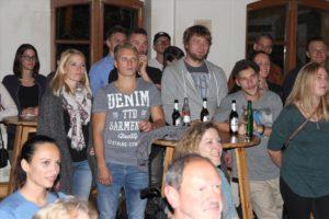 Die geladenen Gäste kamen an diesem Abend erstmals live in den Genuss des kompletten Albums. (Foto: Björn Othlinghaus)