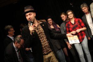 Marian Heuser moderierte die Veranstaltung. (Foto: Björn Othlinghaus)