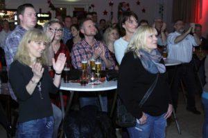 Das Publikum zeigte sich von der abwechslungsreichen musikalischen Mischung von Ohne Yoko begeistert. (Foto: Björn Othlinghaus)