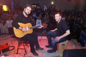 Das Duo Breddermann setzte mit einem gewohnt energiegeladenen Auftritt einen spektakulären Schlusspunkt. (Foto: Björn Othlinghaus)